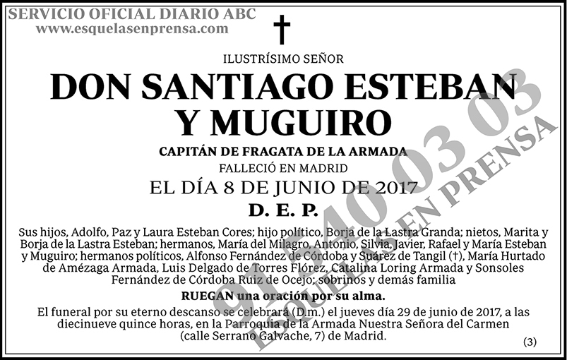 Santiago Esteban y Muguiro